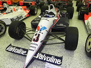 Galles Racing - Al Unser, Jr.'s 1992 Indy 500 winning Galmer.
