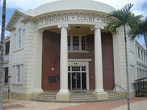 Innisfail Court House on Rankin Street. Taken ...