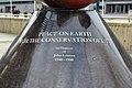 Inscription, John Lennon peace memorial, Echo Arena.jpg
