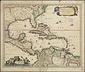 Insulæ Americanæ in Oceano Septentrionali ac regiones adiacentes, a C. de May usque ad Lineam Æquinoctialem (4587175836).jpg