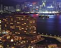 InterContinental Hong Kong Exterior (Night) 2007.jpg