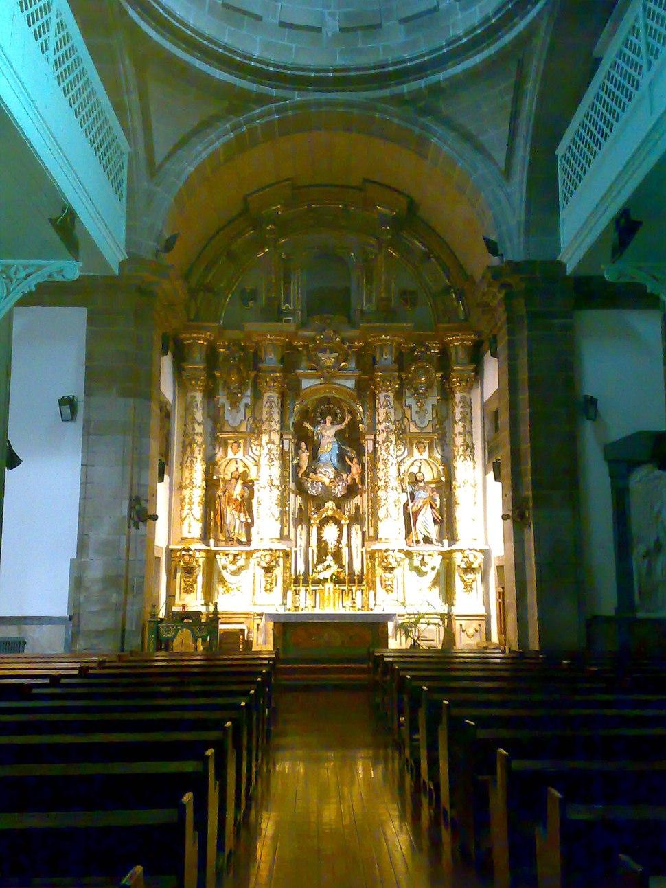 Interior da Igrexa das Orfas (Santiago de Compostela9