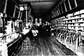 Interior of Star Paint and Wallpaper Company with bicycles and paintings for sale, probably between 1901 and 1905 (SEATTLE 748).jpg