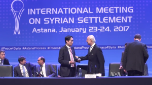 Syrian peace process - The International Meeting on Syrian Settlement in Astana, 25 January 2017