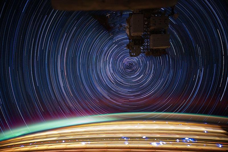 International Space Station star trails - JSC2012E052684.jpg