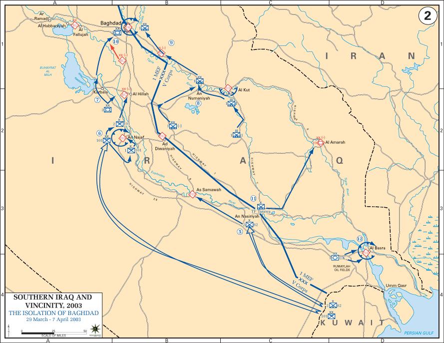 Iraq War 2003 Map2