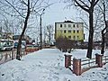 Irkutsk. February 2013. Cinema Barguzin, regional court, bus stop Volga, Diagnostic Center. - panoramio (15).jpg