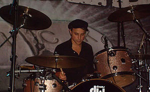 Isaac Carpenter (drummer) - Image: Isaac Carpenter Live