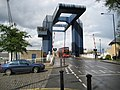 Isle of Dogs, West India Docks drawbridge - geograph.org.uk - 789073.jpg