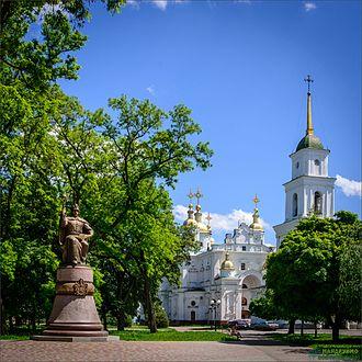 Ivan Mazepa - Mazepa monument in Poltava