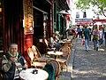 Jósa Piroska. Pihenés a Monmartre-on.JPG