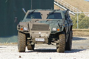 JGSDF Light Armored vehicle 20070107-03.JPG