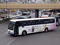 JR Bus Tohoku H644-07403 Sendai Miyagi DC Musubimaru Bus 2013.jpg