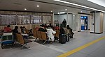 JR Chitose-Line New Chitose Airport Station Waiting room (20181227).jpg