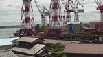 File:JS Fuyuzuki launched at Mitsui Tamano Shipyard, -22 Aug. 2012 a.ogv