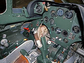 Saab 29 Tunnan - The cockpit of a J 29F, 2013