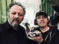 Jack Sargeant and Johannes Grenzfurthner 2018.jpg