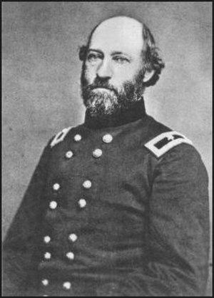 Jacob Gartner Lauman - Jacob Lauman in his brigadier general's uniform; photo taken after 1862 promotion