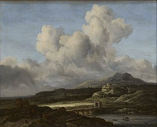 painting by Jacob Isaakszoon van Ruisdael, Louvre museum