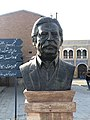 Jamshid Mashayekhi statute at Ghazali Cinema Town.jpg