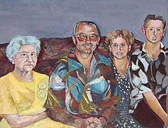 Jane Kelly (artist) - Image: Jane Kelly. Happy Family