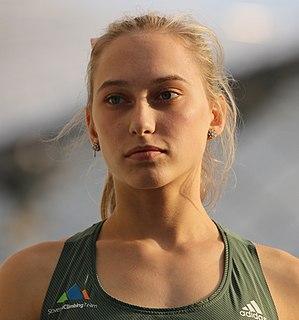 Janja Garnbret Slovenian sport climber
