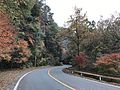 Japan National Route 500 in Ochiai, Soeda, Tagawa, Fukuoka 10.jpg