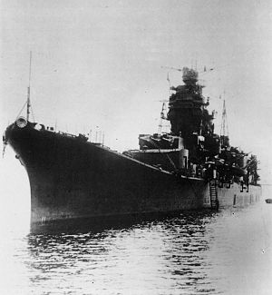 Japanese cruiser Ōyodo - Ōyodo in 1944