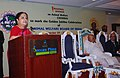 Jayanthi Natarajan delivering the Presidential address at the Regional Seminar, at the Golden Jubilee Celebrations of Animal Welfare Board of India (AWBI), in Chennai. The Governor of Tamil Nadu.jpg