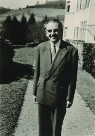 Jean Leray - Jean Leray at Oberwolfach in 1961