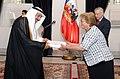 Jefa de Estado recibe las Cartas Credenciales de los nuevos embajadores de Arabia Saudita, Indonesia, Finlandia, Irán, Nueva Zelanda, Irlanda y de San Vicente y las Granadinas (16450443748).jpg