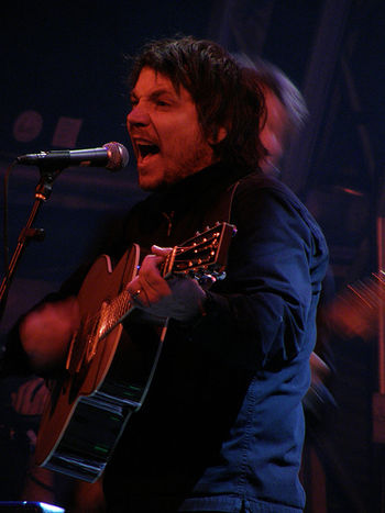 """Jeff Tweedy performing with Wilco @ Prim..."