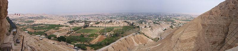 Panorama de Jericó (foto: Wikipedia)