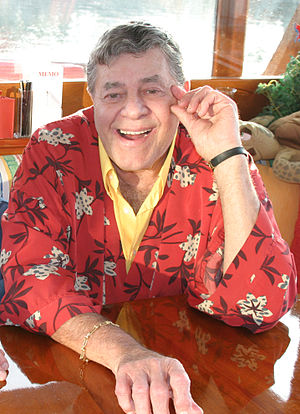 English: Comedian Jerry Lewis - Photograph by ...