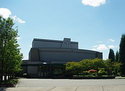 Jesuit High School auditorium - Portland, Oregon.JPG
