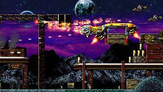 Jets'n'Guns - Screenshot