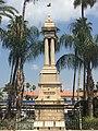 Jezreel Valley railway monument in Haifa.jpg