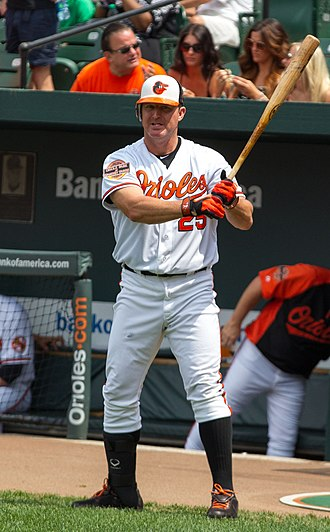 Jim Thome - Thome with the Orioles in 2012