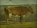 Johan Thomas Lundbye - Study of a Cow - KMS3396 - Statens Museum for Kunst.jpg