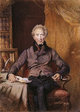 Cornwallis in India - John Shore, portrait by George Richmond