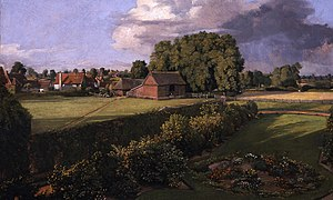 Golding Constable's Flower Garden - Golding Constable's Flower Garden, painted 1815