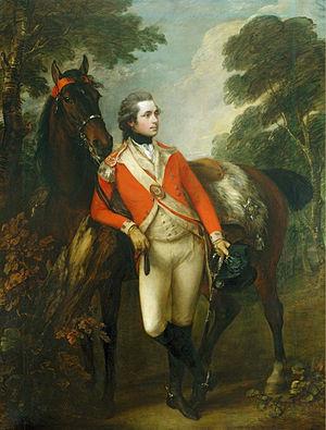 1782 in art - Image: John Hayes St Leger Gainsborough 1782