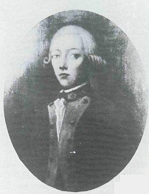 Jean Baptiste François Joseph de Warren - Portrait as a boy