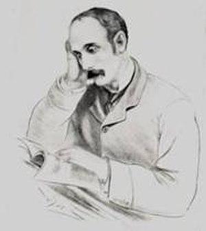 John X. Merriman - Drawing of John X Merriman from his biography