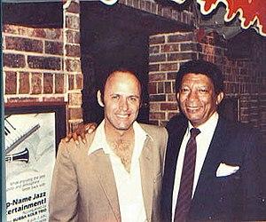 Johnny Hartman - Jazz singer Johnny Hartman (right) at the Village Jazz Lounge in Walt Disney World