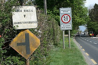 R402 road (Ireland) - Image: Johnstownbridge R4020515