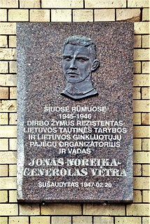 Jonas Noreika Lithuanian army officer