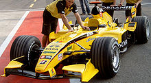 Photo de la Jordan EJ15B en Italie