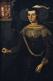 José de Avelar Rebelo - Retrato da Rainha D.Luisa de Gusmão