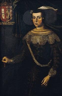 José de Avelar Rebelo - Retrato da Rainha D.Luisa de Gusmão.jpg